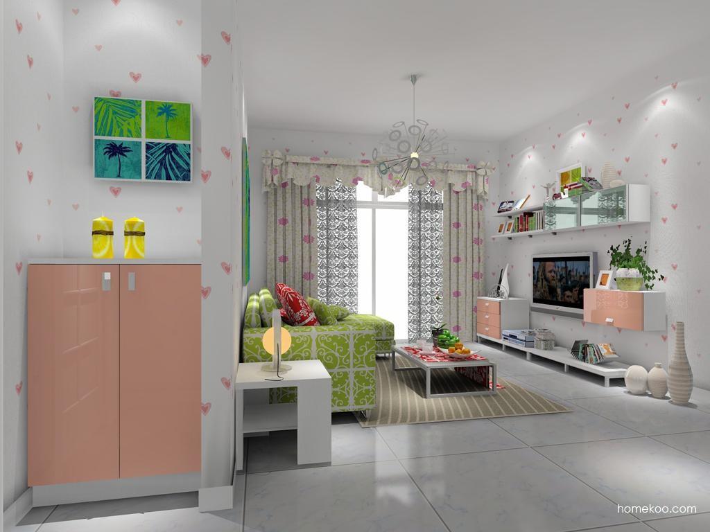 浪漫主义客厅家具D7989