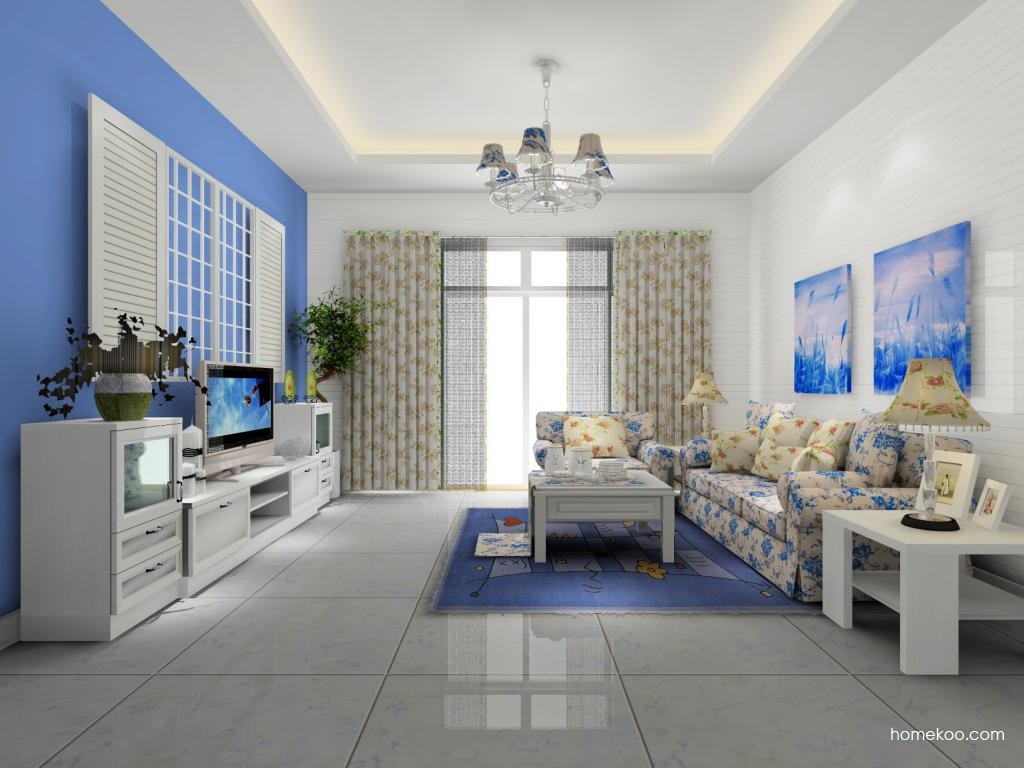 韩式田园客厅家具D7991