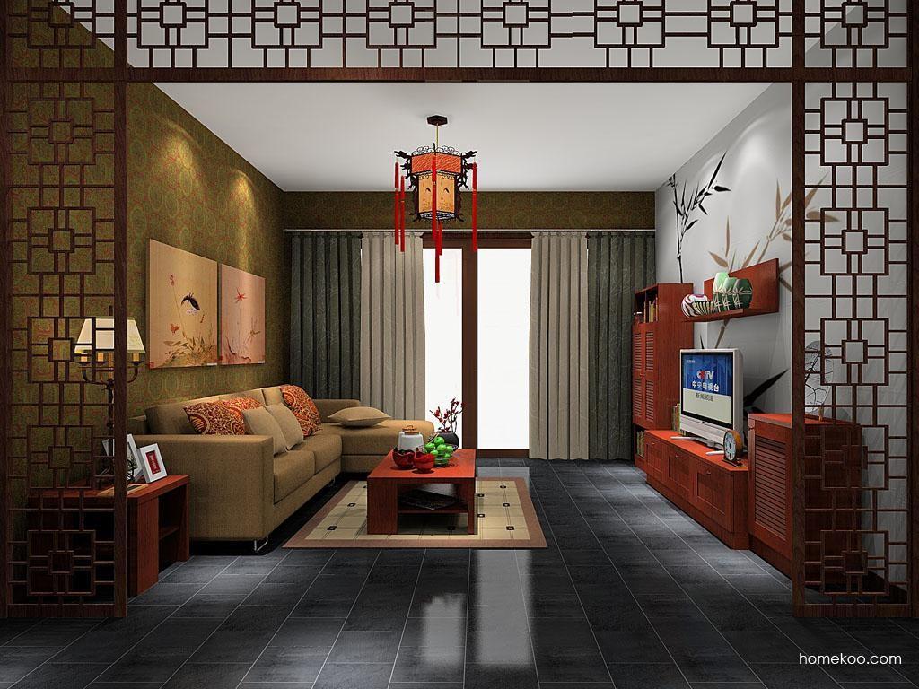 新中式主义客餐厅G8643