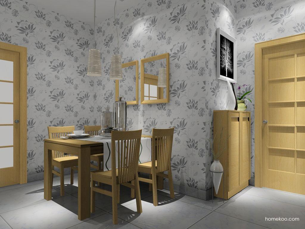 丹麦本色餐厅家具E8009