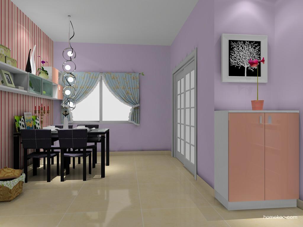 浪漫主义餐厅家具E8005