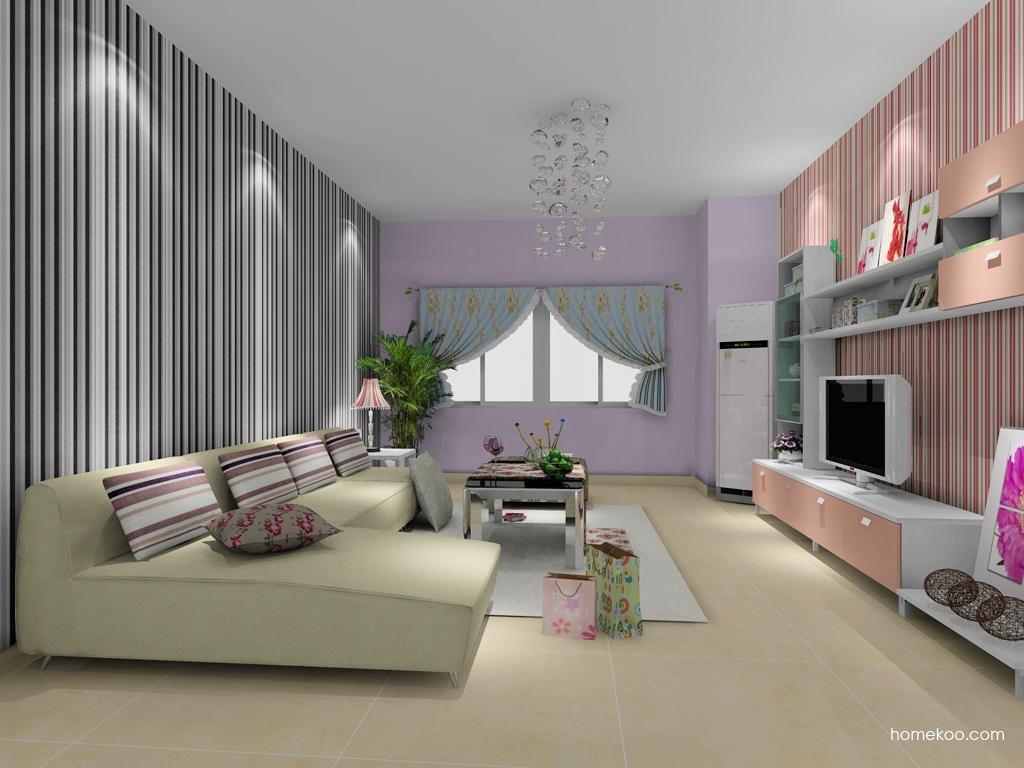 浪漫主义客厅家具D8006