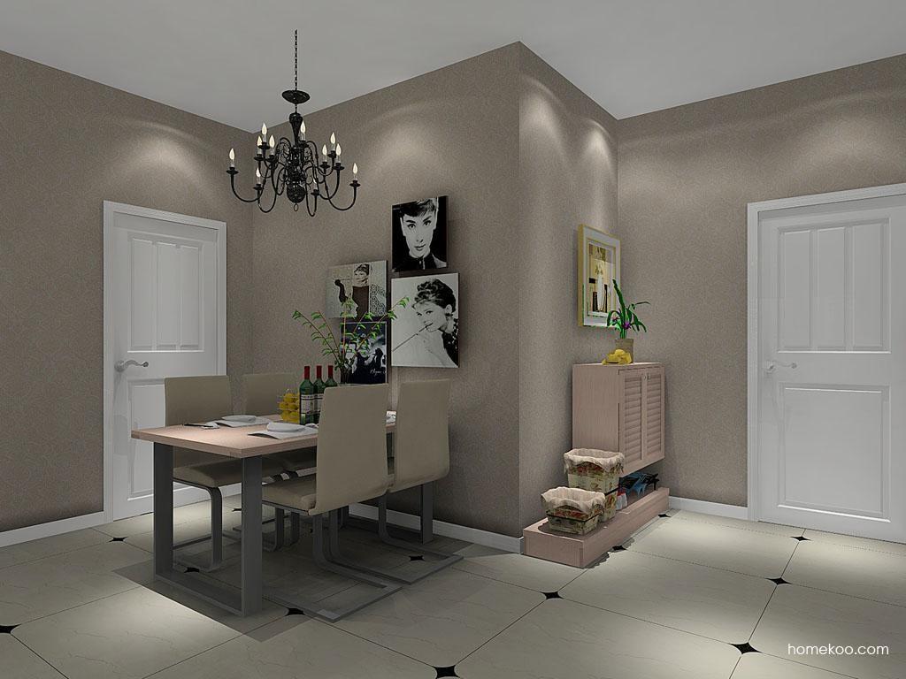 北欧阳光餐厅家具E8019