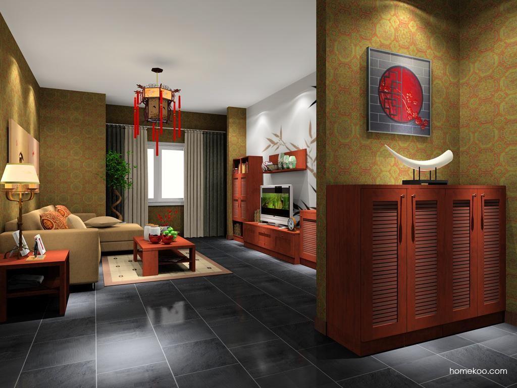 新中式主义客厅家具D8014
