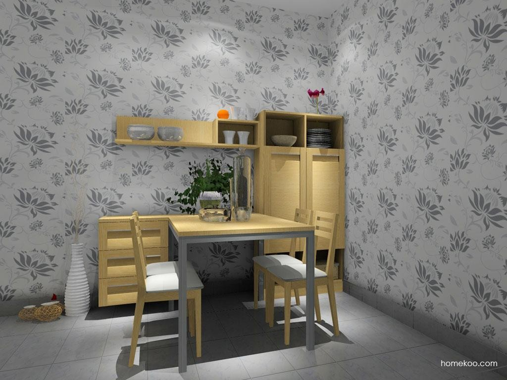 丹麦本色餐厅家具E8022