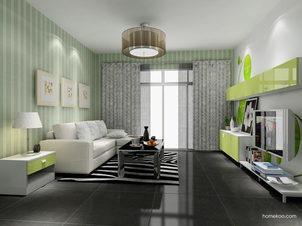 浪漫主义客厅家具D8019