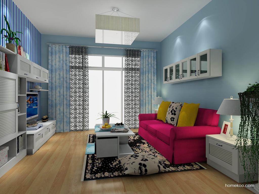 韩式田园客厅家具D8025