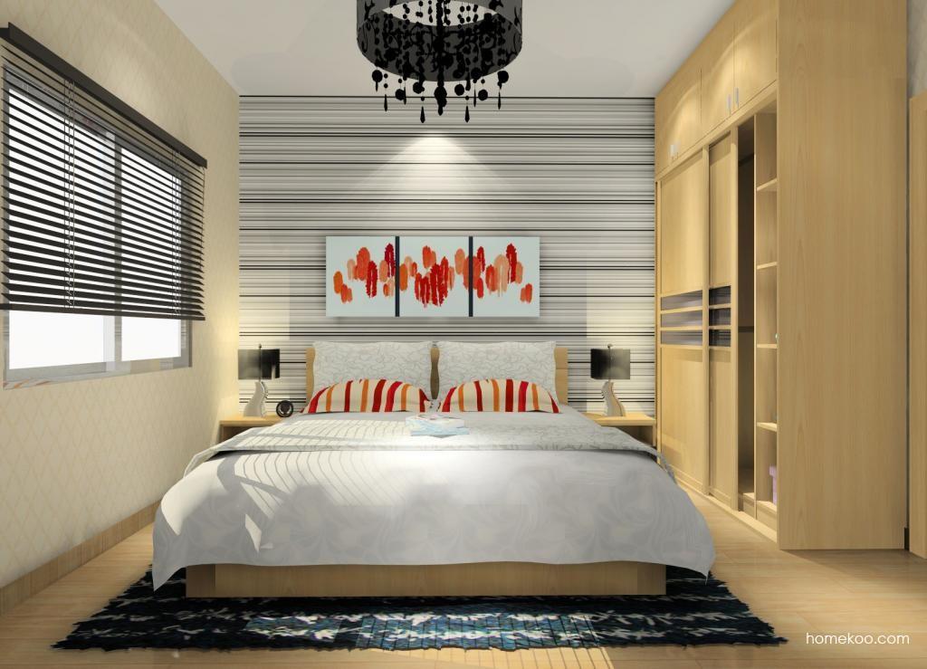 新实用主义卧房家具A9590