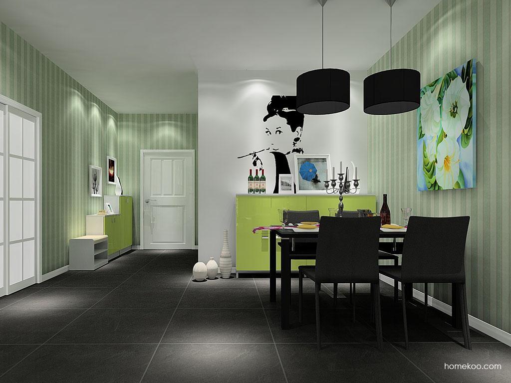 浪漫主义餐厅家具E8037