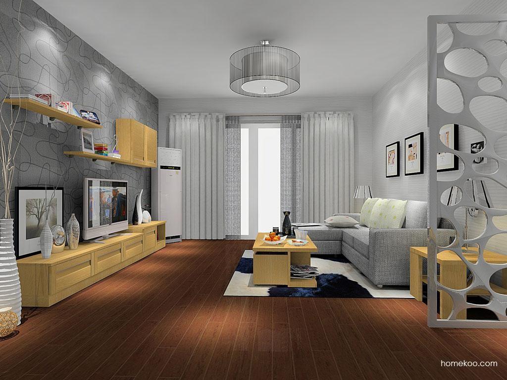 丹麦本色客厅家具D8040