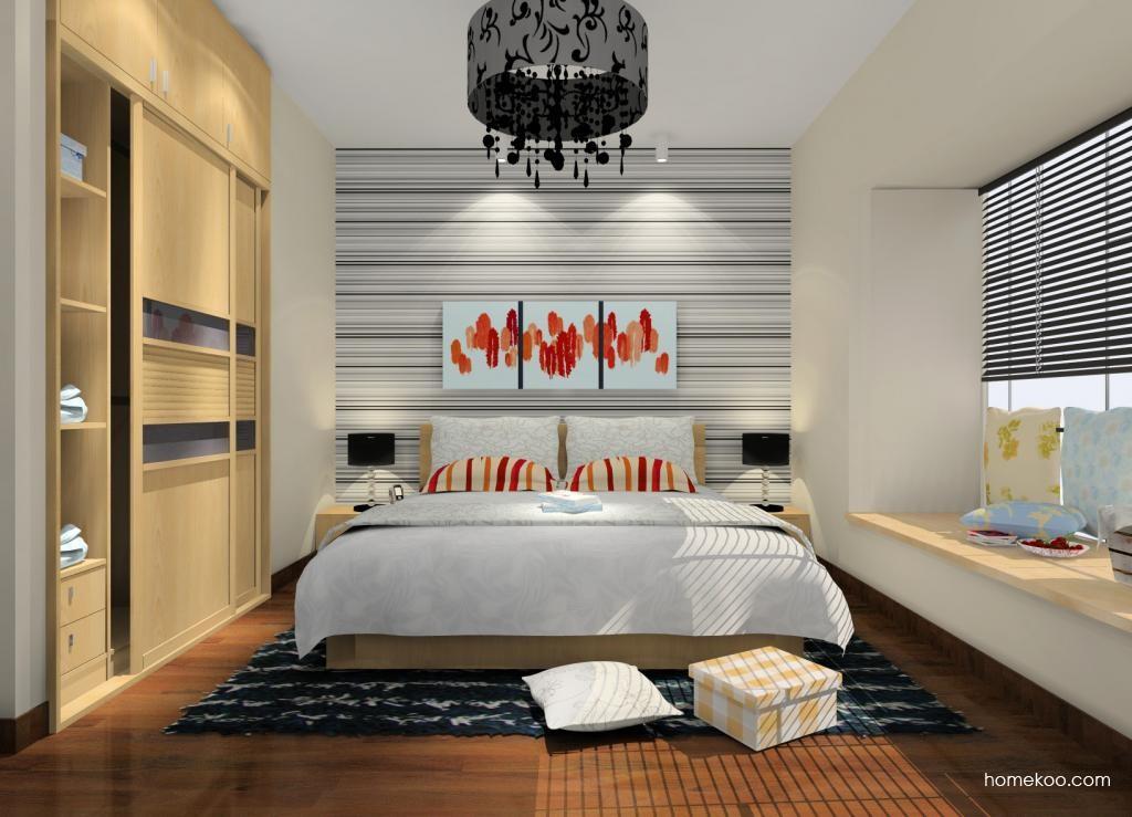 新实用主义卧房家具A9618