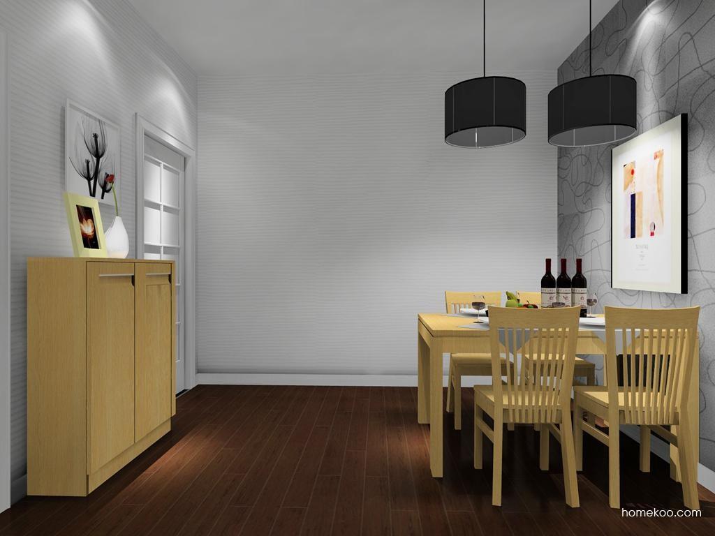 丹麦本色餐厅家具E8046