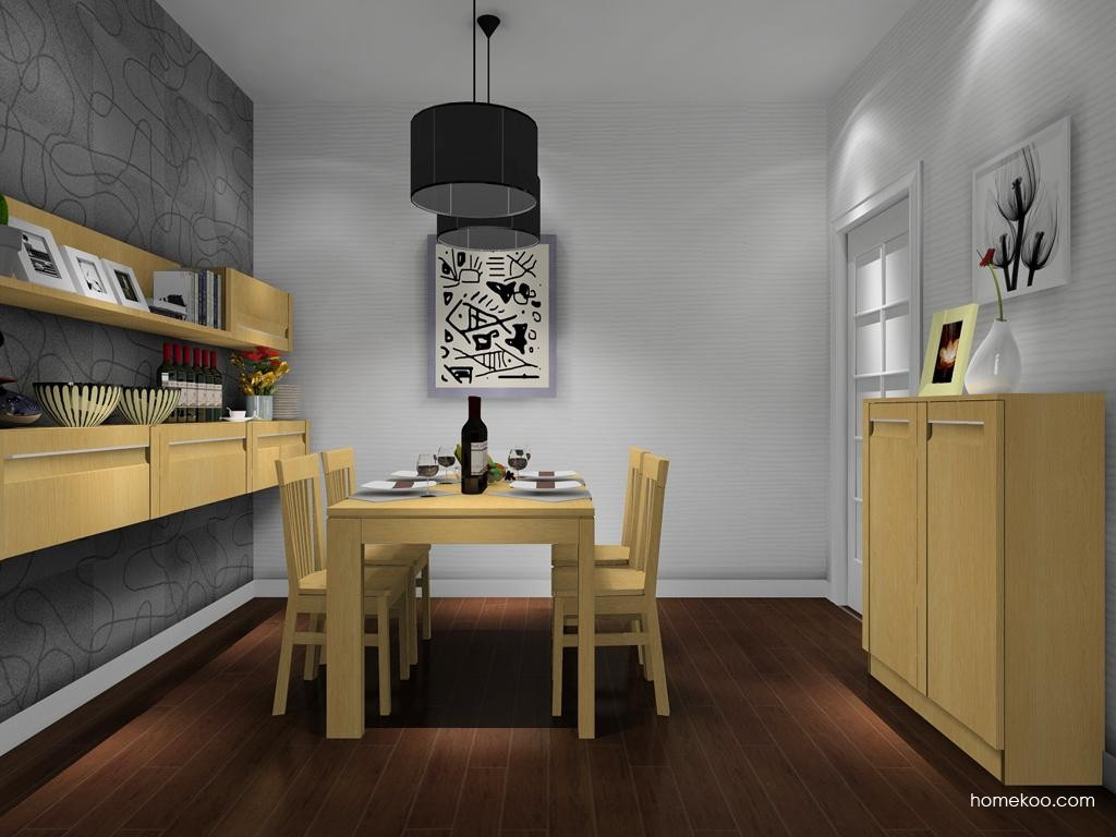 丹麦本色餐厅家具E8042