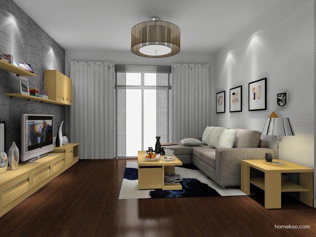 丹麦本色客厅家具D8044