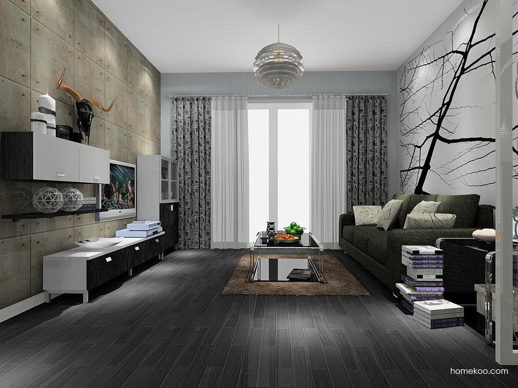 简约主义客厅家具D8055