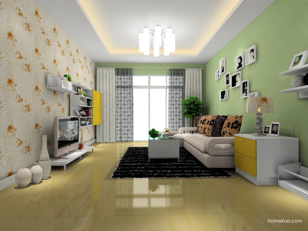 浪漫主义客厅家具D8059