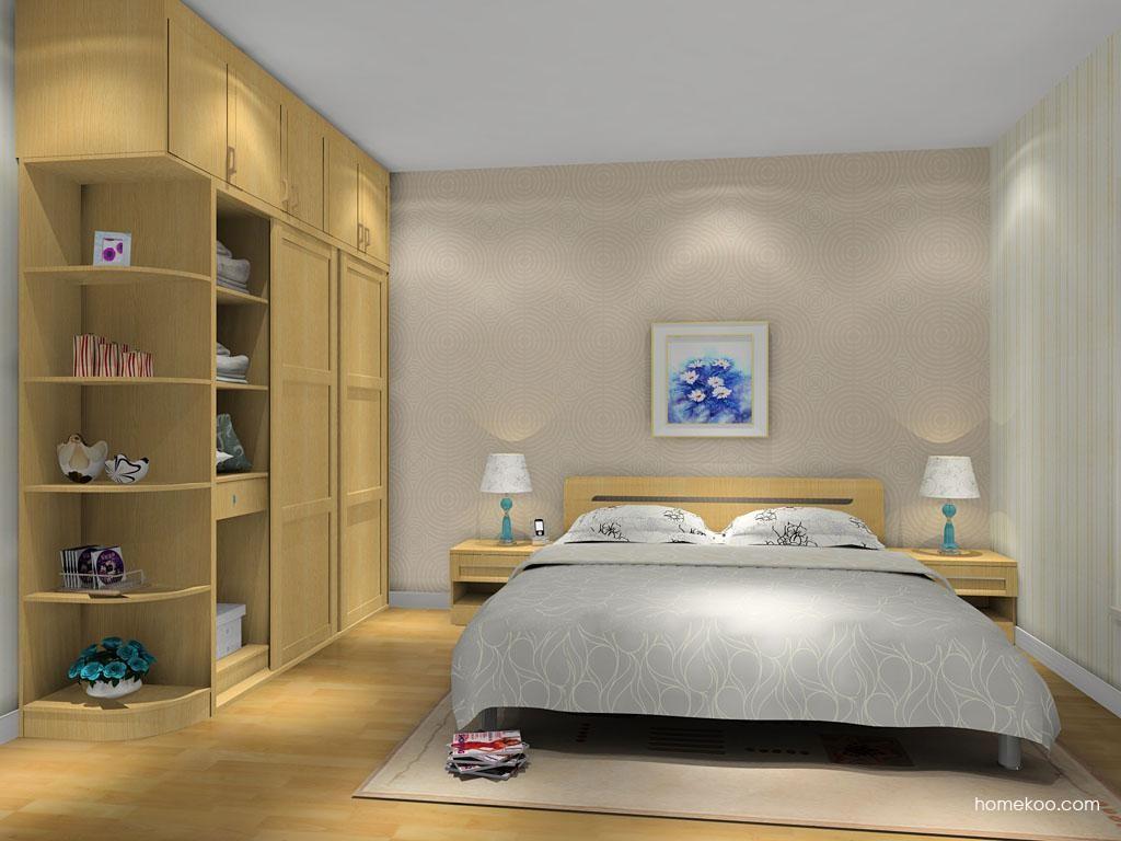 丹麦本色卧房家具A9658