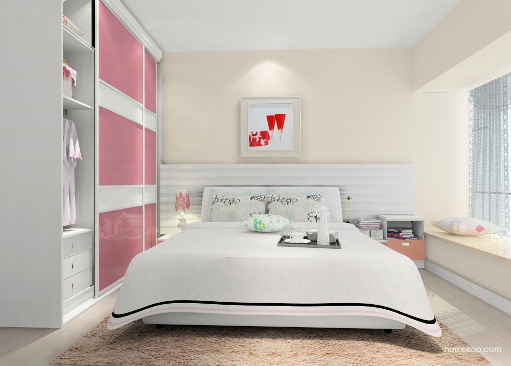 浪漫主义卧房家具A9655