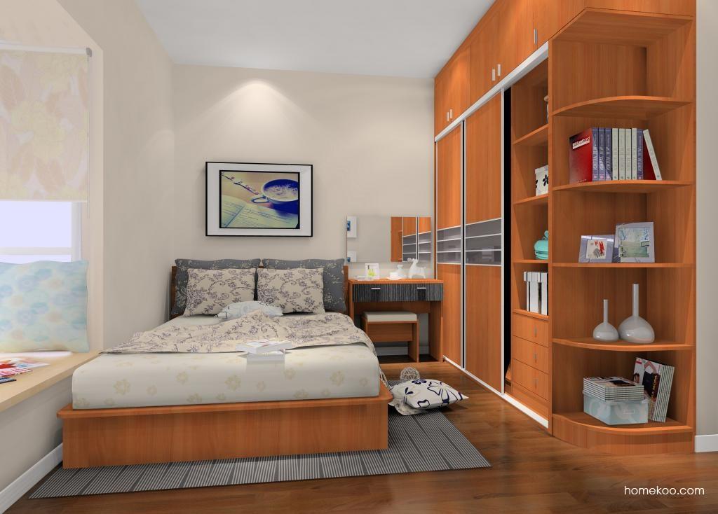 新实用主义卧房家具A9667