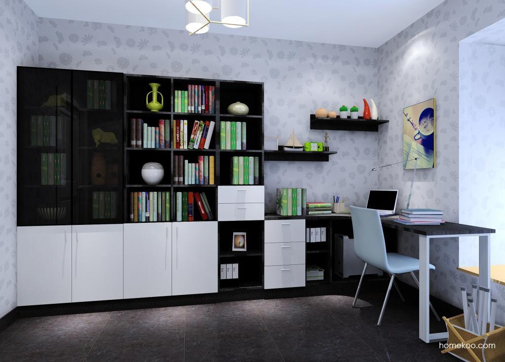 简约主义书房家具C9305
