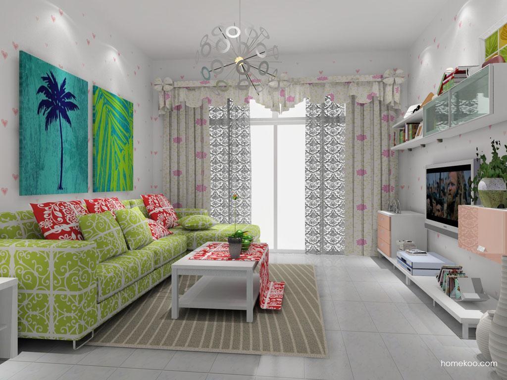 浪漫主义客厅家具D8071