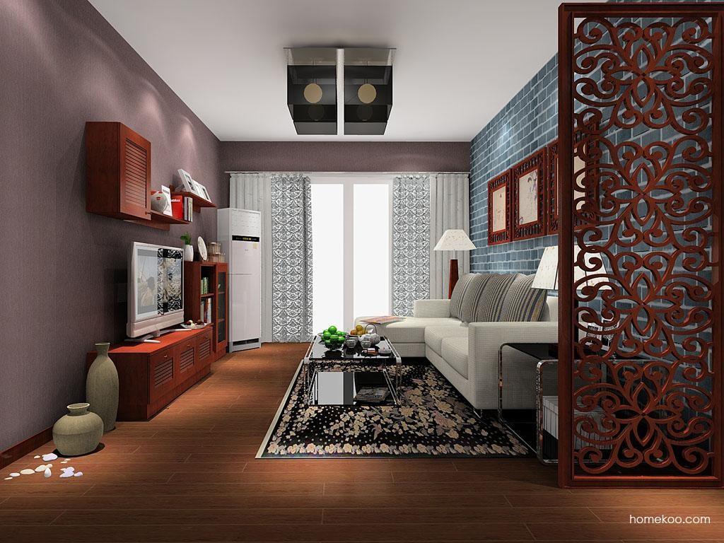 新中式主义客厅家具D8075