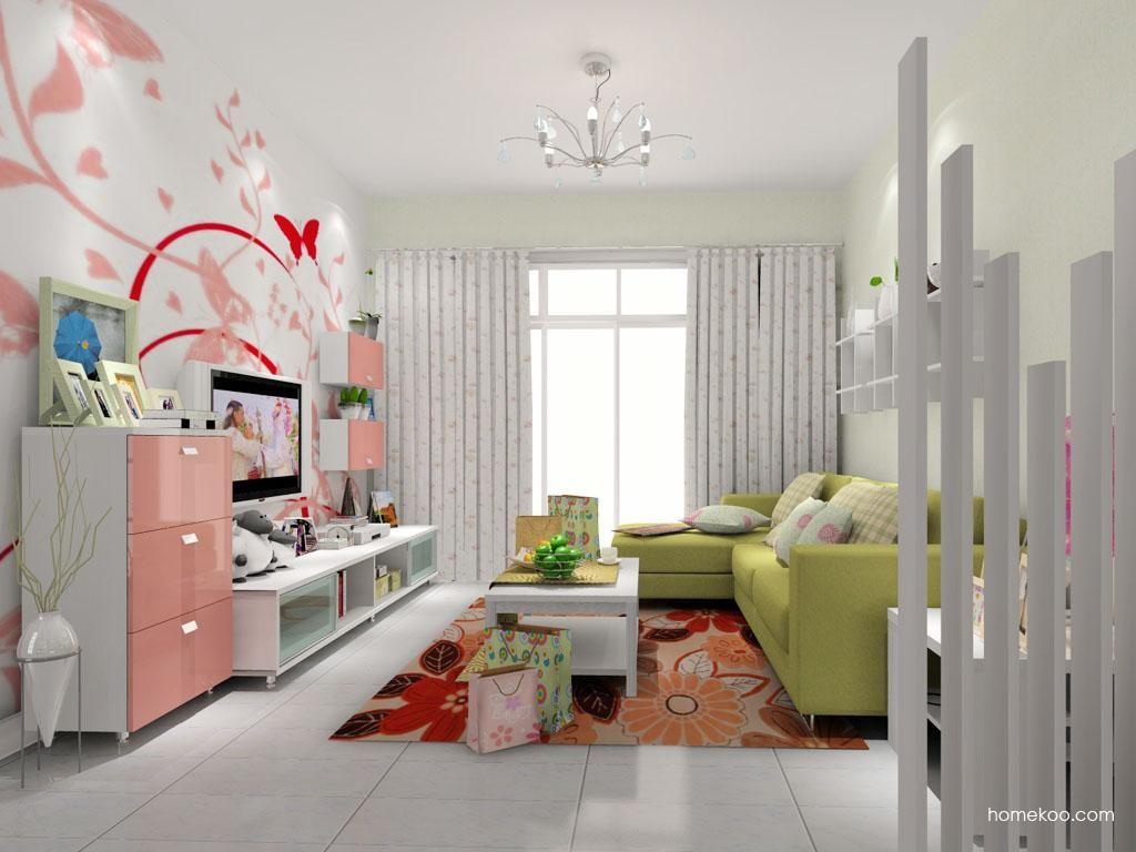 浪漫主义客厅家具D8088