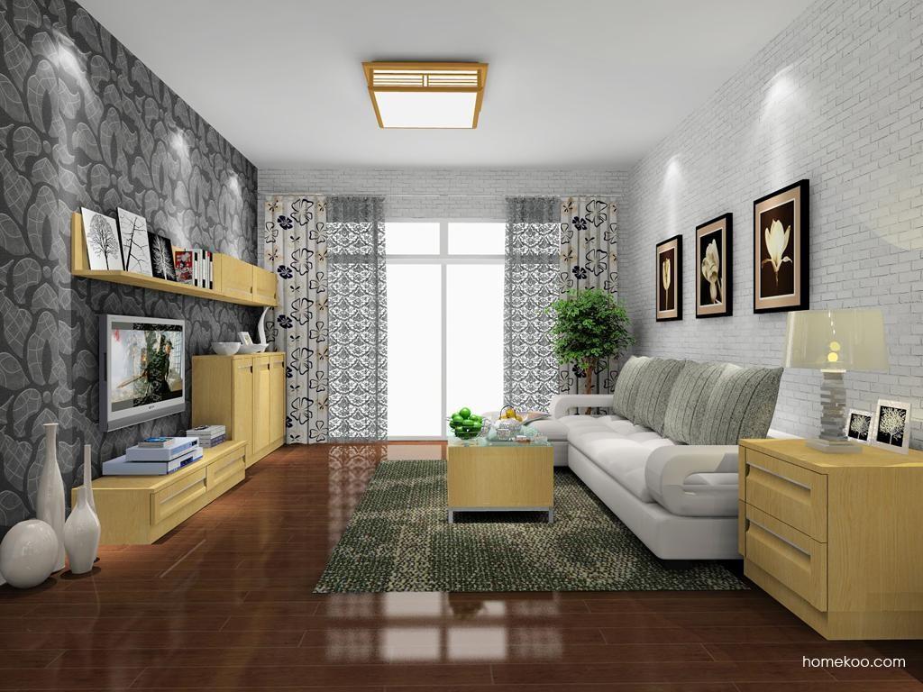 丹麦本色客厅家具D8086