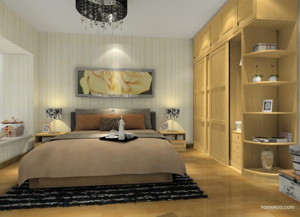 丹麦本色卧房家具A9706