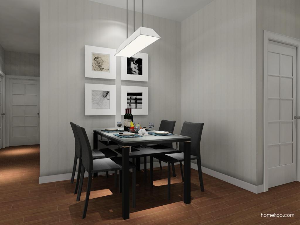 简约主义餐厅家具E8097