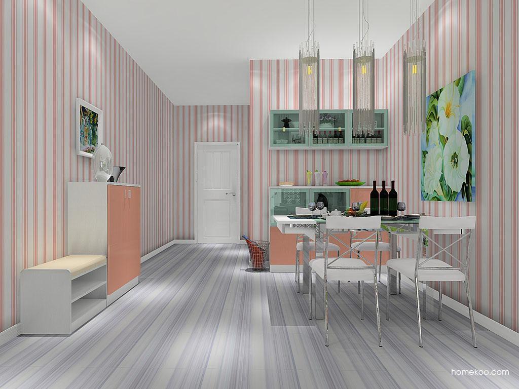 浪漫主义餐厅家具E8092