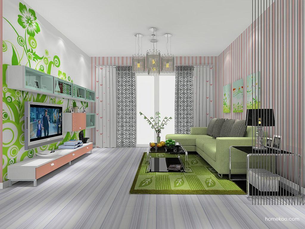 浪漫主义客厅家具D8093