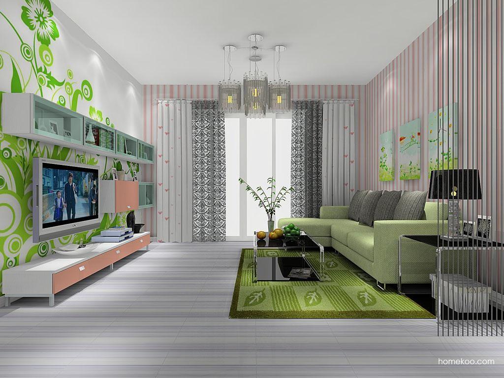浪漫主义客厅家具D8094