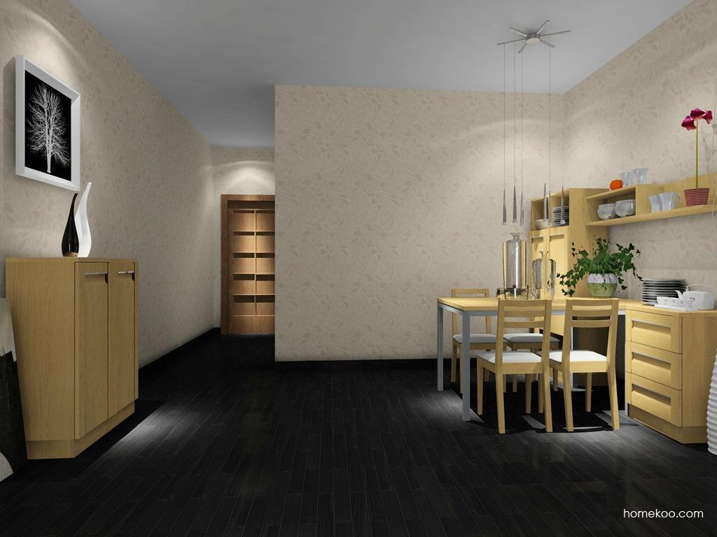 丹麦本色餐厅家具E8096