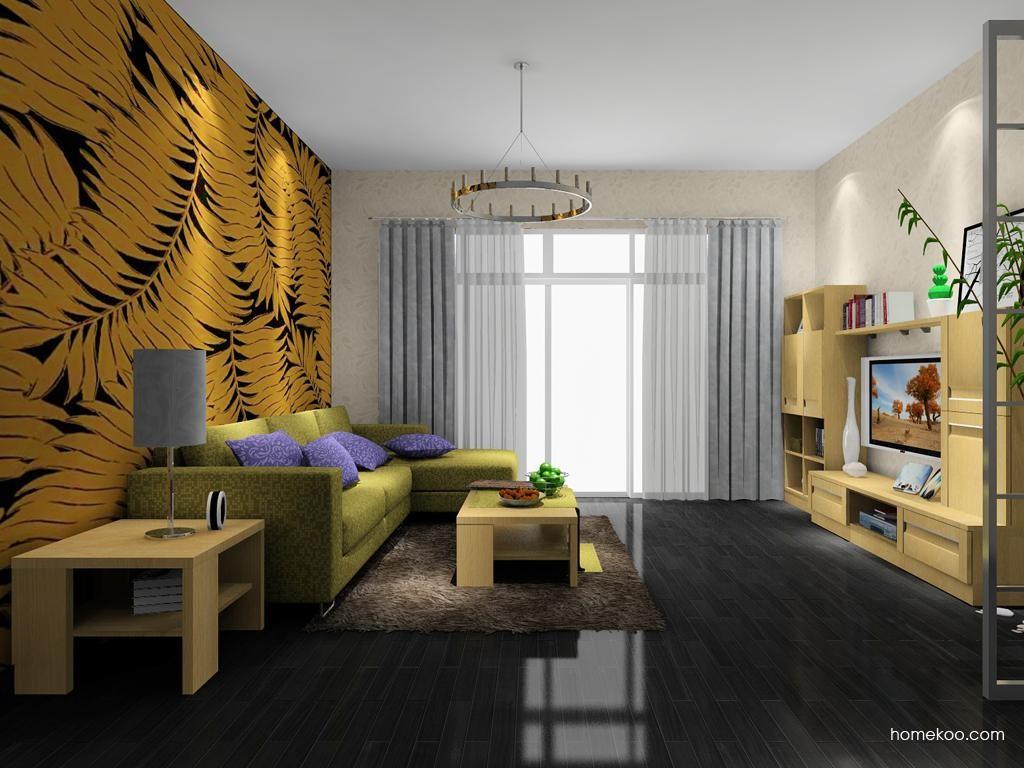 丹麦本色客厅家具D8097