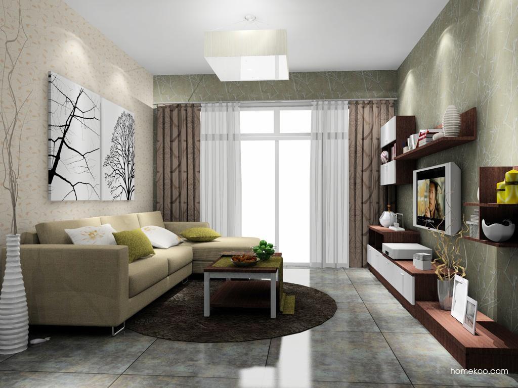 新实用主义客厅家具D8102