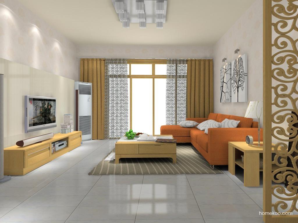 丹麦本色客厅家具D8101