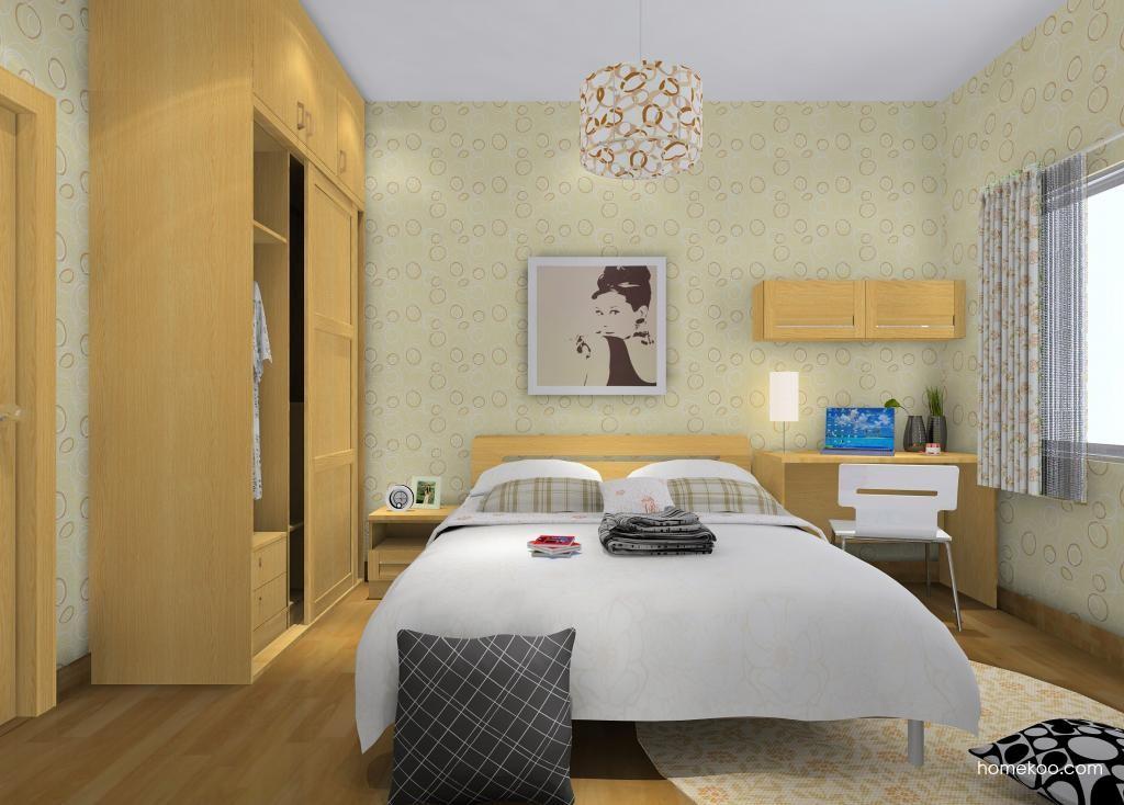 丹麦本色卧房家具A9738