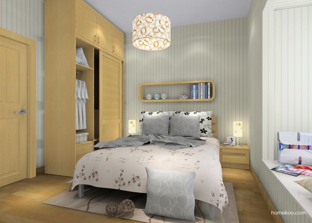 丹麦本色卧房家具A9736