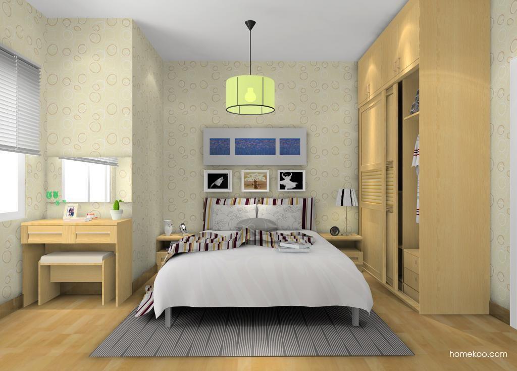 丹麦本色卧房家具A9735