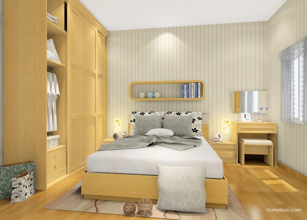 丹麦本色卧房家具A9742