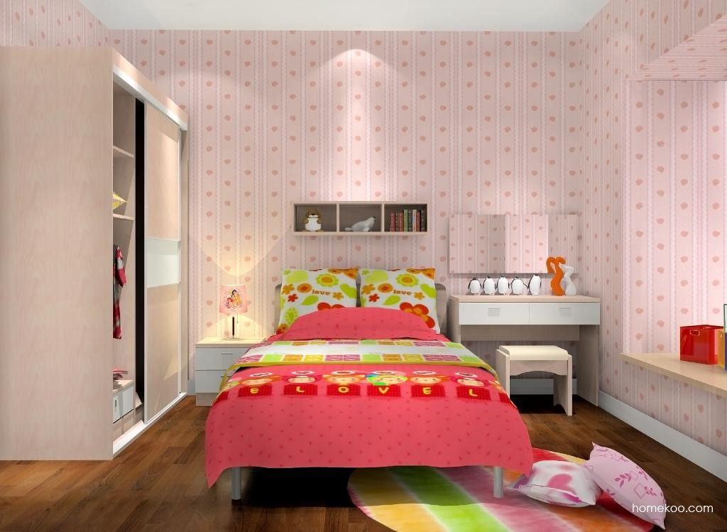 女孩的梦青少年房B9576