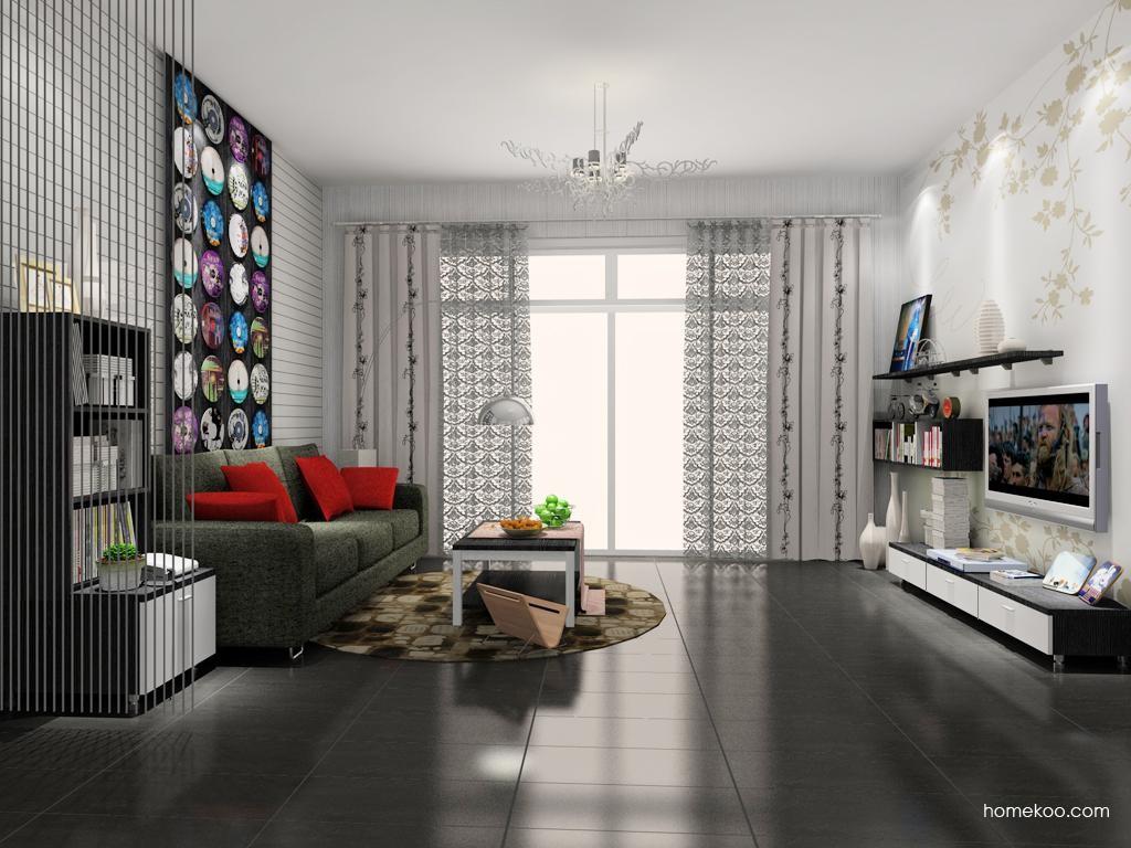 简约主义客厅家具D8122