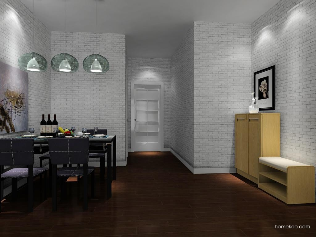 丹麦本色餐厅家具E8141
