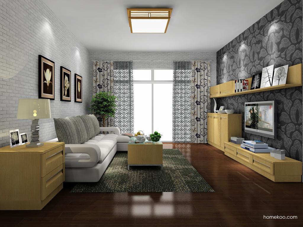 丹麦本色客厅家具D8143