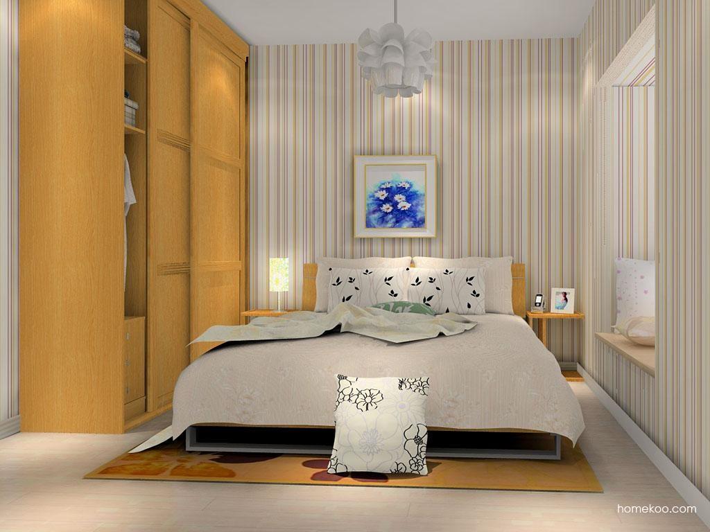 丹麦本色卧房家具A9789
