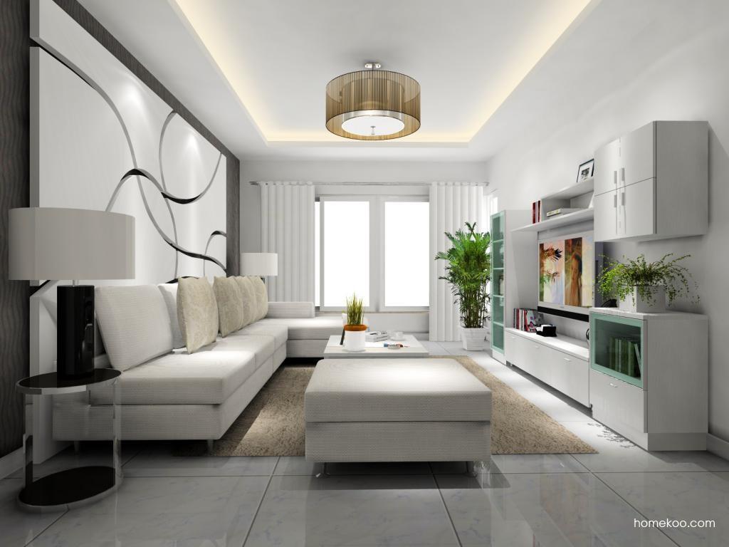 新实用主义客厅家具D8140
