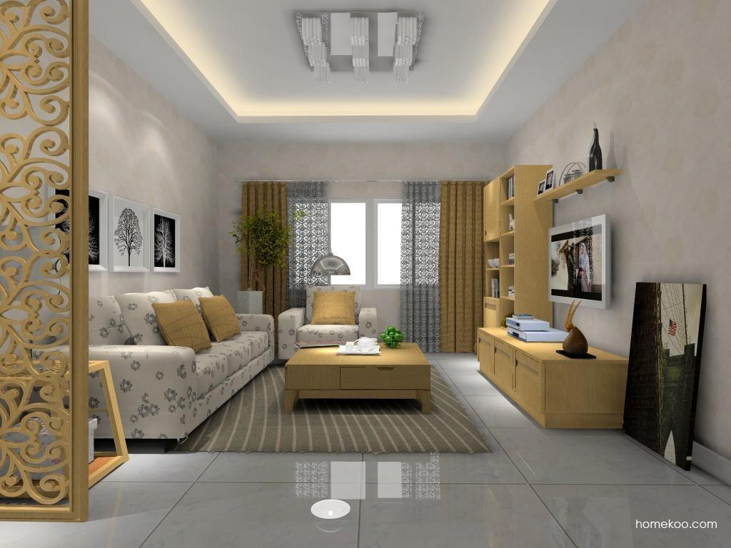 丹麦本色客厅家具D8154