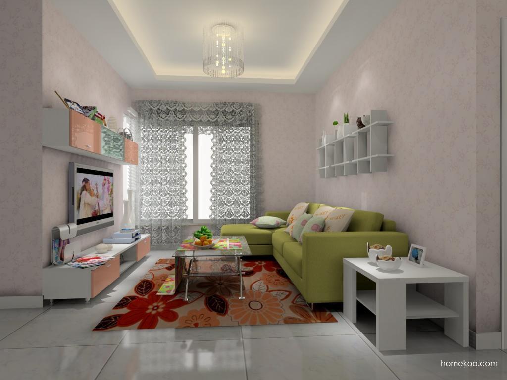浪漫主义客厅家具D8152