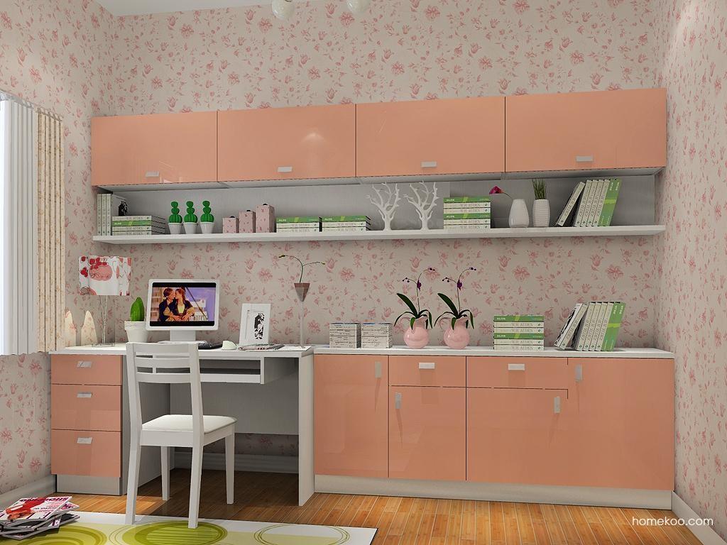 浪漫主义书房家具C9359